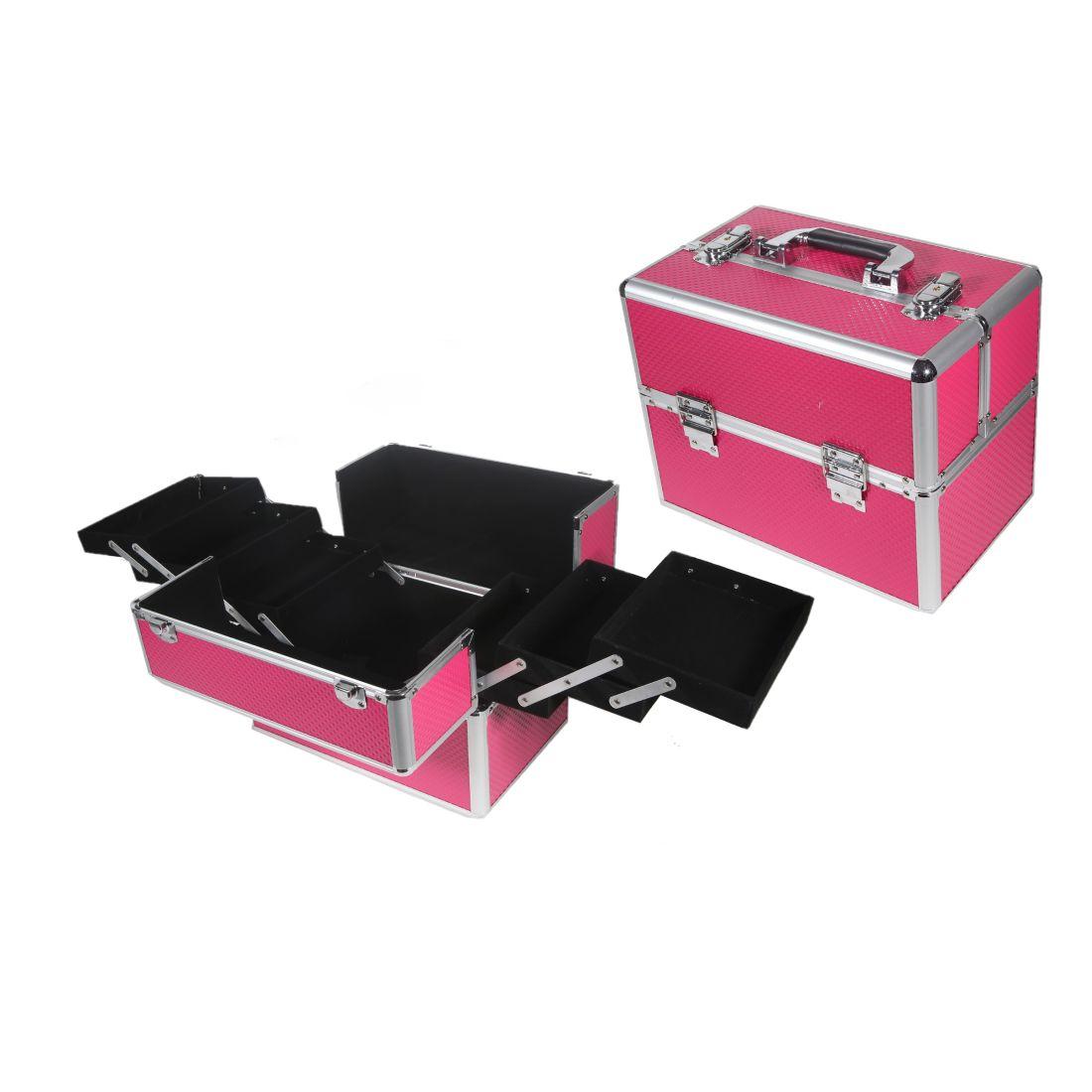 af59623b23 Ro-Ro Accessories Επαγγελματικό Βαλιτσάκι Καλλυντικών Φούξια