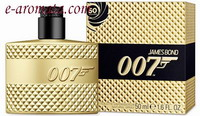 James Bond 007 Limited Edition Gold Eau de Toilette Spray 50ml