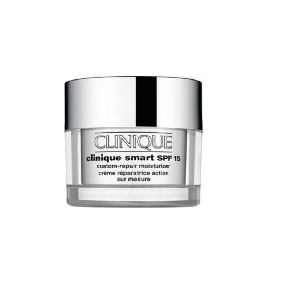 Clinique Smart SPF 15 Custom Moisturizer Dry To Combination Skin 30ml Τύπος Δέρματος : Κανονικό,Ξηρό