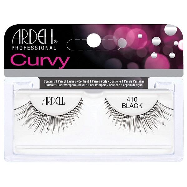 Ardell Curvy 410 Black Eyelashes