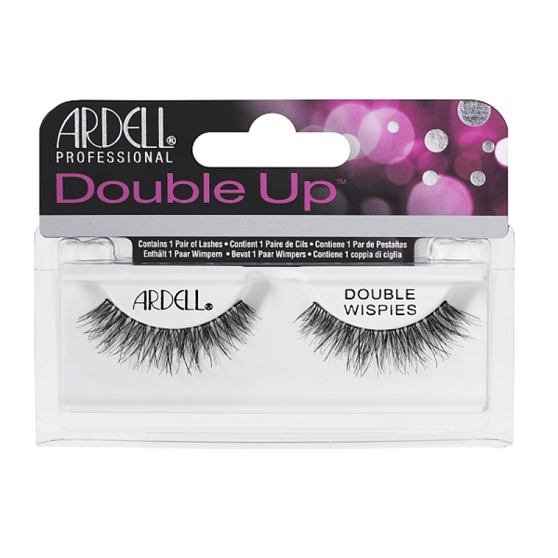 Ardell Double Up Double Wispies Black Eyelashes