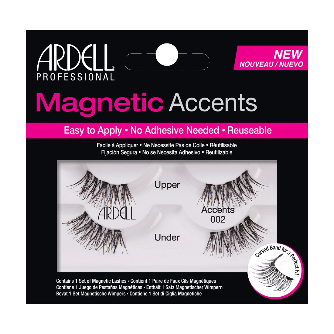 Ardell Magnetic Accent Demi Wispies 002