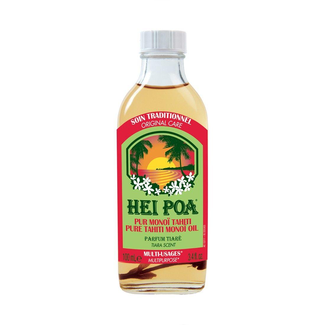 Hei Poa Pure Tahiti Monoi Oil Tiare 100ml
