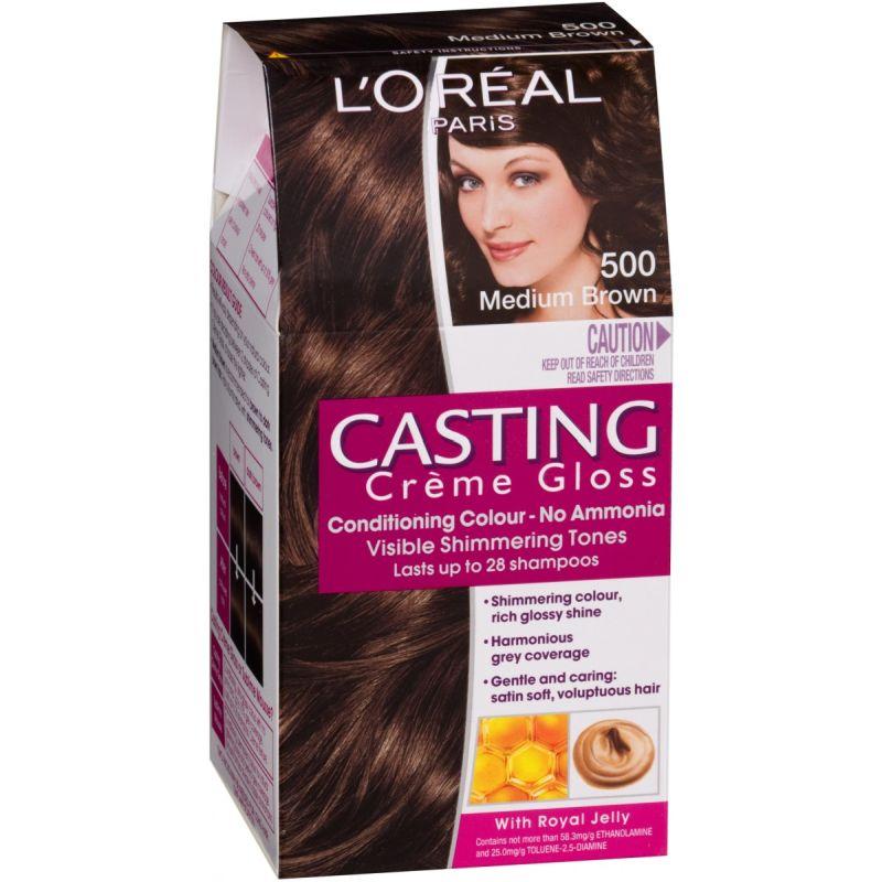 L'Oréal Casting Creme Gloss Νο500 Σοκολατί Ανοιχτό 48ml