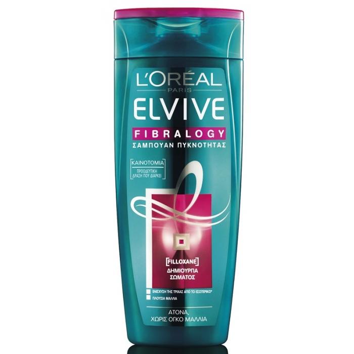 L'Oréal Elvive Fibralogy Σαμπουάν Πυκνότητας 400ml