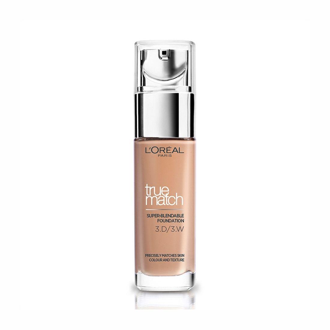 L'Oréal True Match Foundation 30ml 3D3W Golden Beige