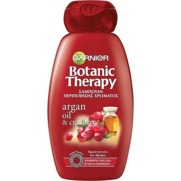Garnier Botanic Therapy Argan Oil & Cranberry Σαμπουάν Περιποίησης Χρώματος 250ml