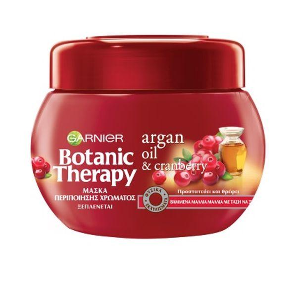 Garnier Botanic Therapy Argan Oil & Cranberry Μάσκα Περιποίησης Χρώματος 300ml