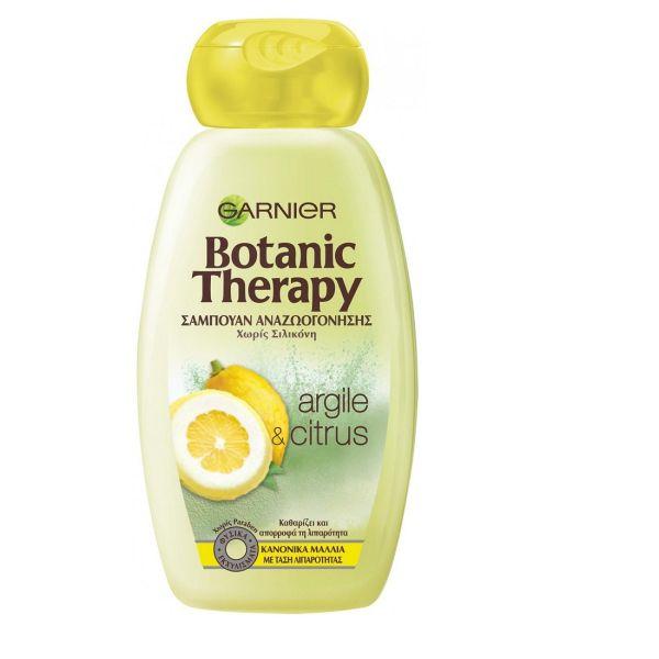 Garnier Botanic Therapy Argile & Citrus Σαμπουάν Αναζωογόνησης 400ml