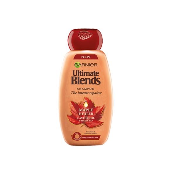 Garnier Botanic Therapy Maple Healer Σαμπουάν Για Ταλαιπωρημένα, Πολύ Φθαρμένα Μαλλιά 400ml