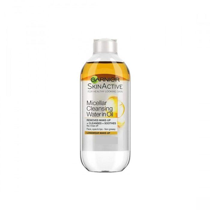 Garnier Skin Active Oil Infused Micellaire Cleansing Water All Skin Types 100ml Τύπος Δέρματος : Όλοι οι τύποι