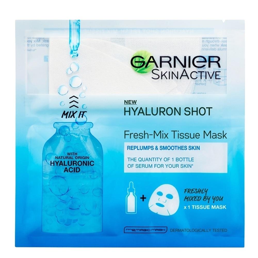 Garnier Skin Active Replumping Shot Fresh-Mix Tissue Mask 33g