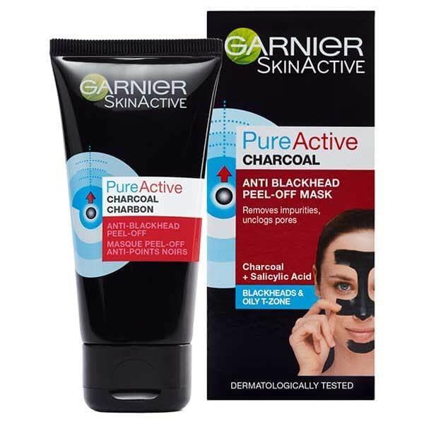 Garnier Pure Active Peel-off mask 50ml Τύπος Δέρματος : Όλοι οι τύποι