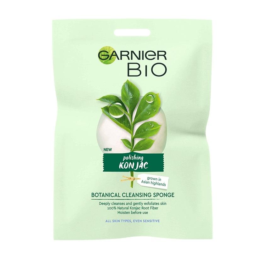 Garnier Bio Polishing Konjac Botanical Cleansing Sponge All Skin Types