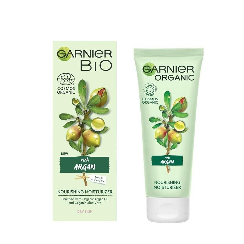 Garnier Bio Rich Argan Nourishing Moisturizer Dry Skin 50ml Τύπος Δέρματος : Ξηρό