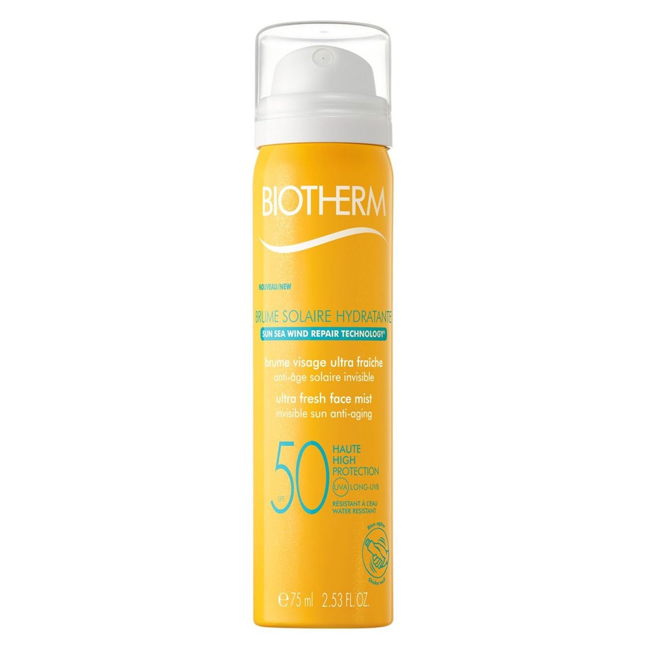 Biotherm Brume Solaire Hydratante Face Mist SPF 50 75ml