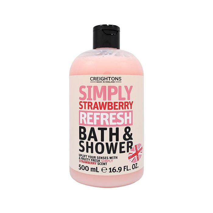 Creightons Simply Strawberry Bath & Shower 500ml