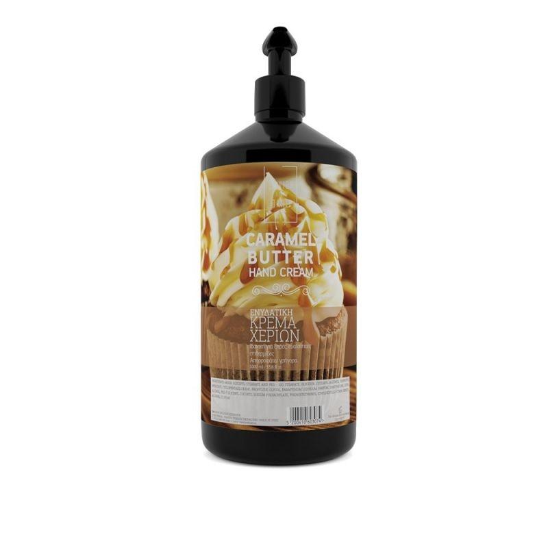 Lavish Body Care Ηand Cream Caramel Butter 1000ml