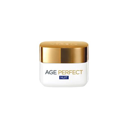 L'Oréal Age Perfect Night Cream 50ml  Τύπος Δέρματος : Όλοι οι τύποι