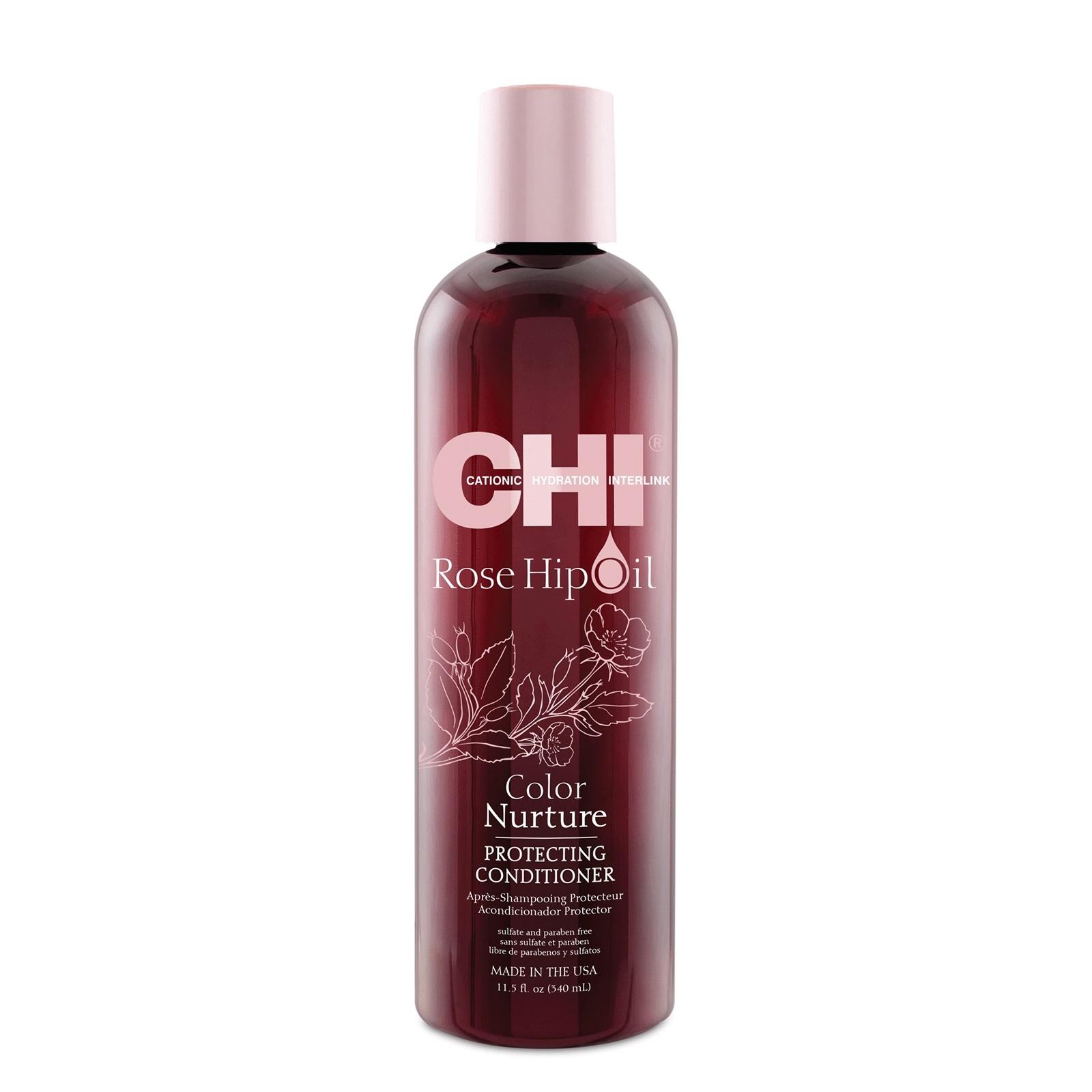 Chi Rose Hip Oil Color Nurture Protecting Conditioner 340ml