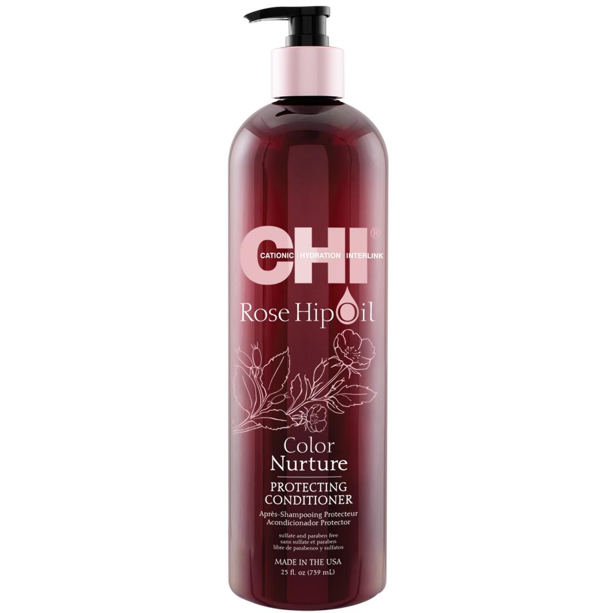Chi Rose Hip Oil Color Nurture Protecting Conditioner 739ml