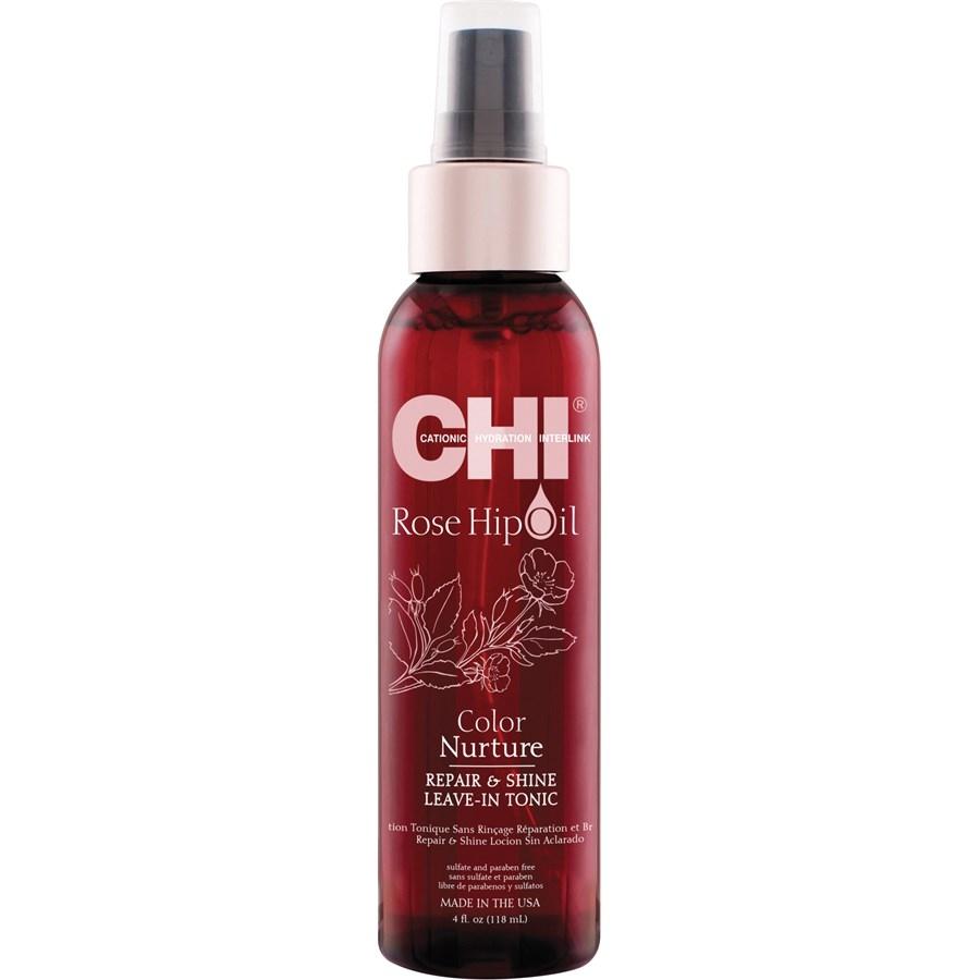 Chi Rose Hip Oil Color Nurture Repair & Shine Leave-In Tonic 118ml
