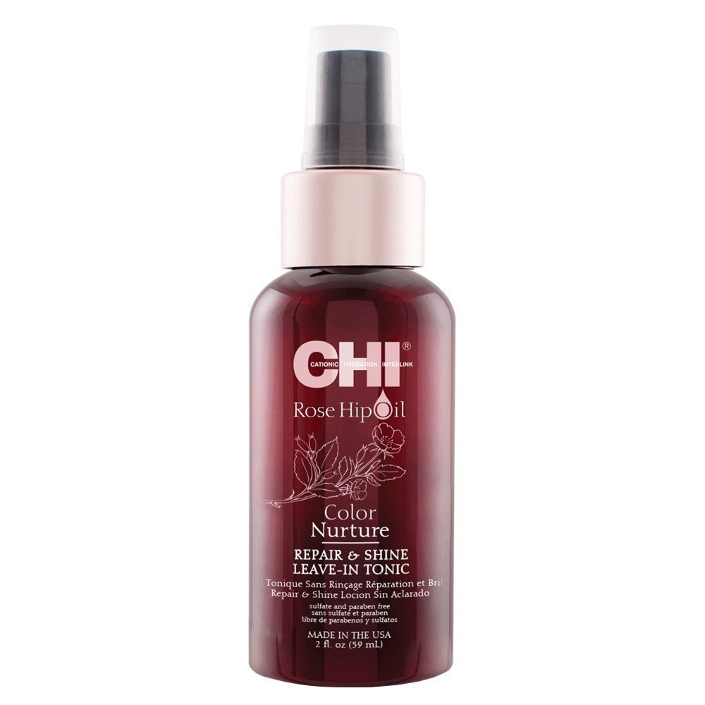 Chi Rose Hip Oil Color Nurture Repair & Shine Leave-In Tonic 59ml