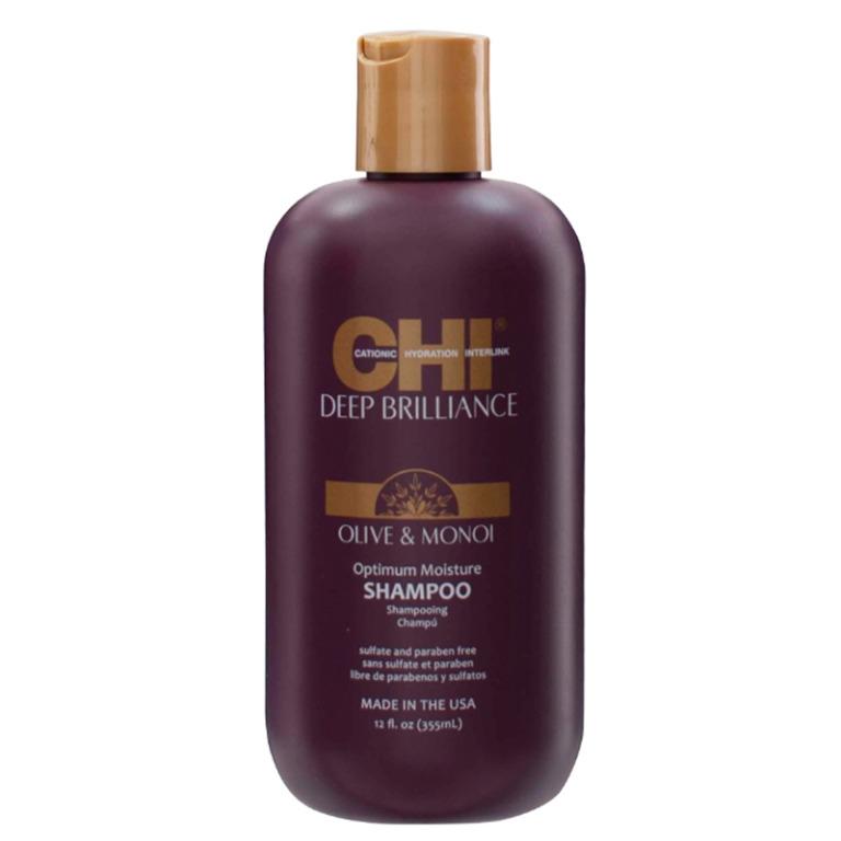 Chi Deep Brilliance Olive & Monoi Oil Optimum Moisture Shampoo 355ml