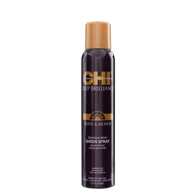 Chi Deep Brilliance Olive & Monoi Oil Optimum Shine Sheen Spray 150g
