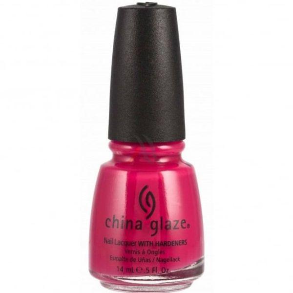 China Glaze Pink Chiffon Nail Polish 14ml