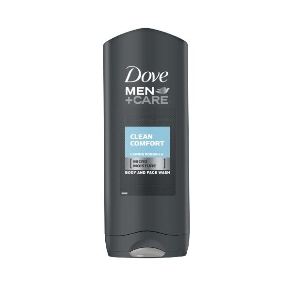 Dove Men+Care Clean Comfort Body & Face Shower Gel 250ml