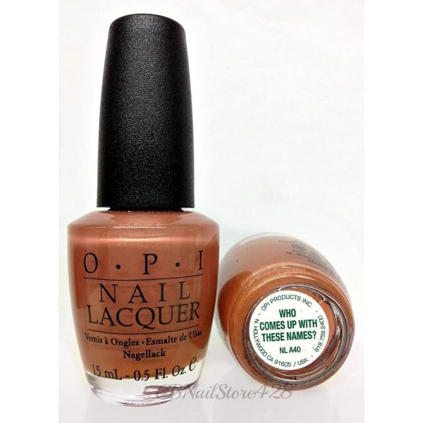 """OPI """"Who Comes Up With These Names?"""" NLA40 15ml"""