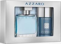 Azzaro Chrome Eau de Toilette 50ml & Deodorant Stick 75ml
