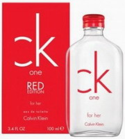 Calvin Klein CK One Red for Her Eau de Toilette 100ml (TESTER)