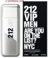 Carolina Herrera 212 VIP Men Eau de Toilette 100ml (TESTER)