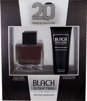 Antonio Banderas Seduction In Black Eau de Toilette 100ml & After Shave Balm 75ml