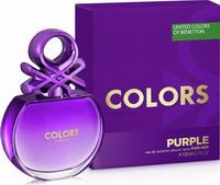 Benetton Colors de Benetton Purple Eau de Toilette 80ml
