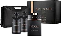 Bvlgari Man In Black Eau De Parfum 100ml & After Shave Balm 75ml & Shower Gel 75ml & Pouch