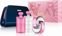 Bvlgari Omnia Pink Sapphire Eau de Toilette 65ml, Body Lotion 75ml, Shower Gel 75ml & Cosmetic Bag
