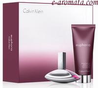 Calvin Klein EUPHORIA WOMEN Eau de Parfum 100ml,body lotion 100ml