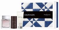 Calvin Klein Euphoria Man Eau de Toilette 100ml, After Shave Balm 100ml & Deodorant Stick 75ml