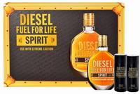 Diesel Fuel For Life Spirit Eau de Toilette 75ml and shower gel 2X50 ml