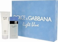 Dolce Light Blue Eau De Toilette 100ml & Body Cream 100ml