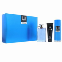 Dunhill Desire Blue Eau De Toilette 100ml & deospray 195ml & shower gel 90ml