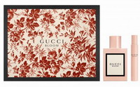 Gucci Bloom Perfume 50ml EDP Spray + 7.4ml Roller Ball