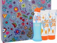 Moschino Cheap Chic I Love Love Eau De Toilette 50ml, Body Lotion 100ml & Shower Gel 100ml