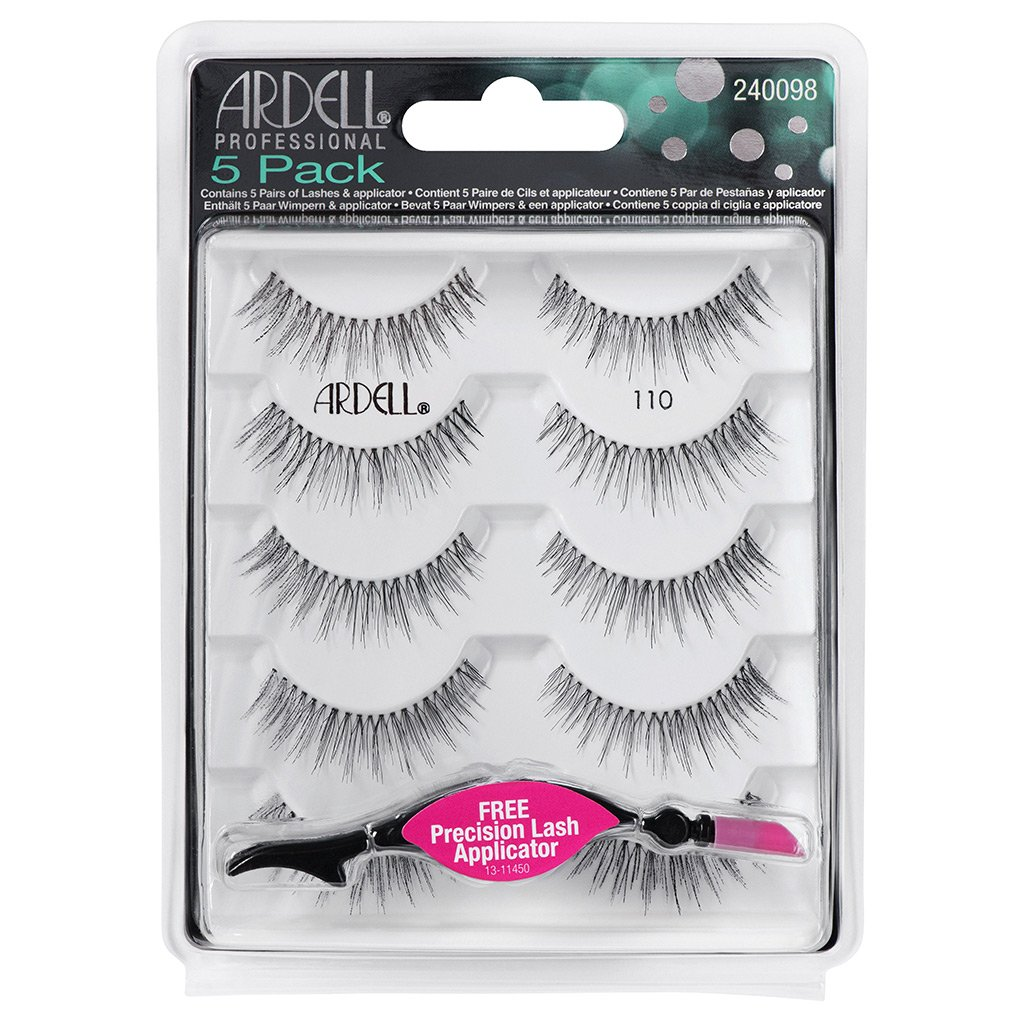 Ardell Lashes 5pack 110 Wispies & Applicator