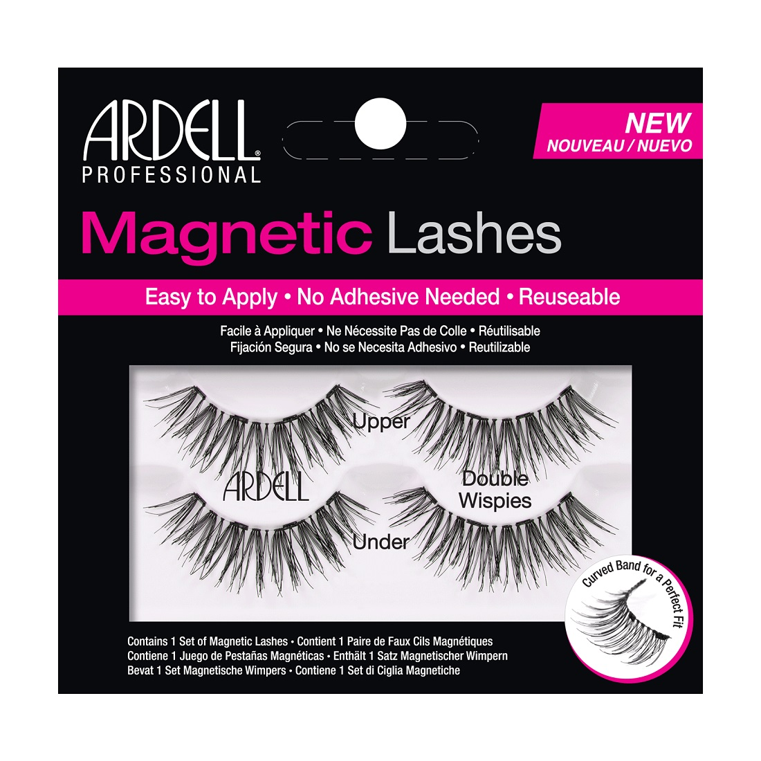Ardell Double Wispies Magnetic Eyelashes Black
