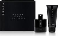 Prada Luna Rossa Black Set ( Eau De Parfum 50ml & Shower Gel 100ml)
