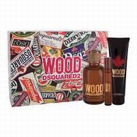 Dsquared2 Wood For Him Eau de Toilette 100ml & shower gel 150ml & 10ml